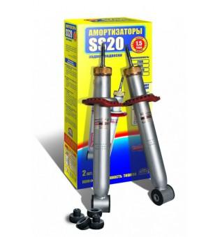 Амортизатор ВАЗ 2170 Lada Priora задний масл. КОМФОРТ (к-т 2шт)