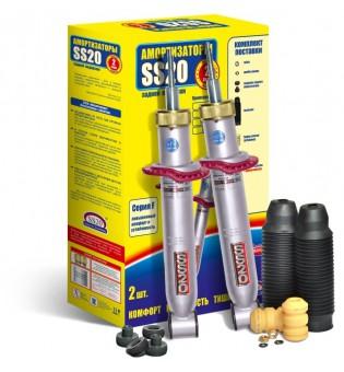 Амортизатор ВАЗ 2108-099,2113-2115 задний масл. КОМФОРТ (к-т 2шт ) повышенной надежности